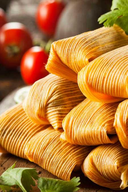 Receta de Tamales.