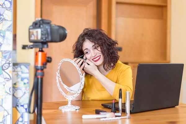 Curso de maquillaje en videos.