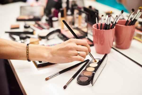 Paleta para el curso de maquillaje