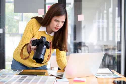 Curso de mujeres fotografia