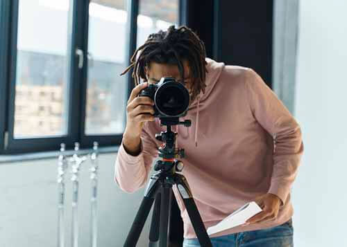 Como ser fotografo online